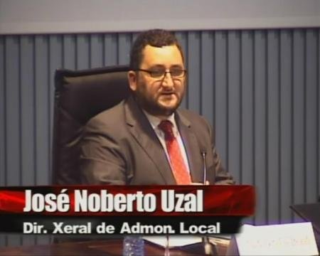 José Norberto Uzal Tresandí. Director Xeral de Administración Local - Xornada sobre a Directiva de Servizos e a Administración Local